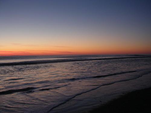 Sunrise over the Bay of Plenty